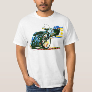 Fast Awesome Speedway Motorcycle T-Shirt