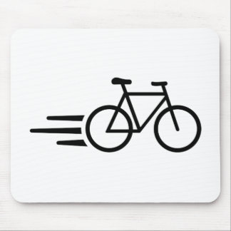 Fast bicycle mouse pad