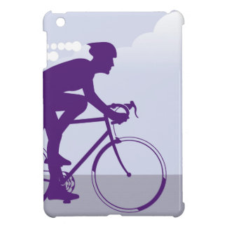 Fast Bicyclist vector Cover For The iPad Mini