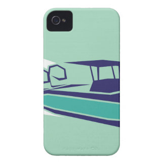 Fast boat Vector iPhone 4 Case