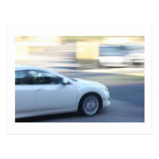 Fast Car Postcard