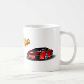 Fast Cars Coffee Mug