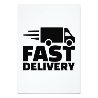 Fast delivery card
