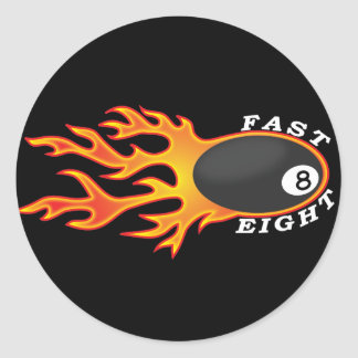 Fast Eight stickers