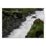 Fast Flowing Creek Alaska Sympathy Card
