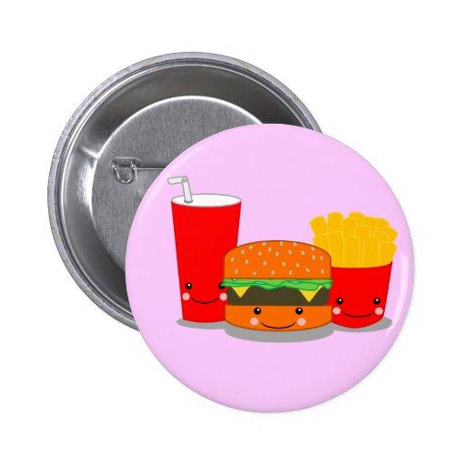 Fast Food 2 Inch Round Button