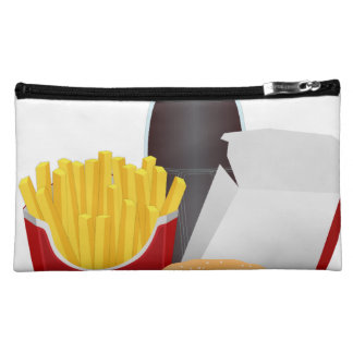 Fast Food Cosmetics Bags