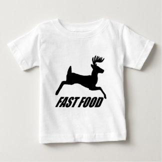 Fast food buck infant t-shirt
