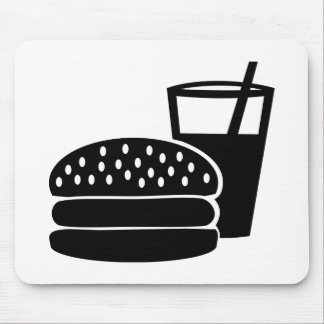Fast food - Burger Mouse Pad