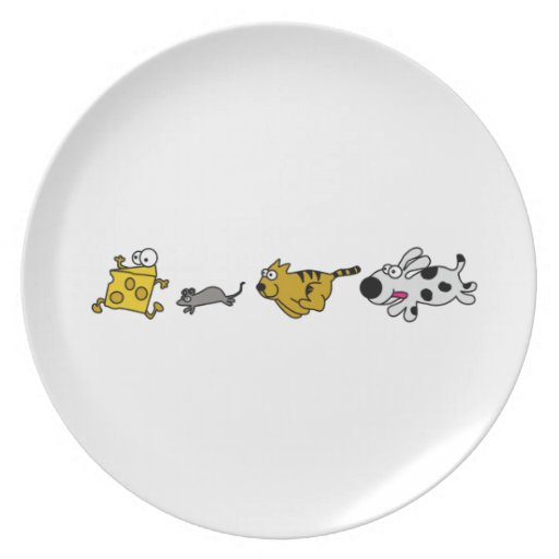 Fast Food Chain Plate