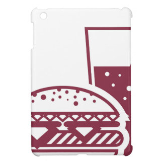 Fast Food Cheeseburger and Drink Case For The iPad Mini
