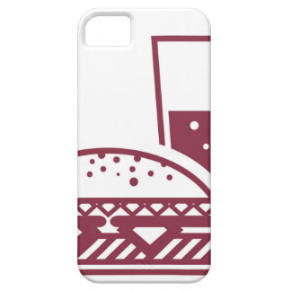 Fast Food Cheeseburger and Drink iPhone SE/5/5s Case