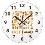 Fast food clock