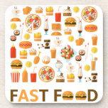 Fast food coaster