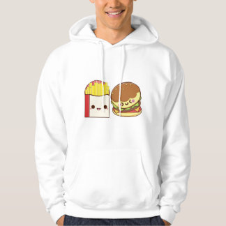Fast Food Couple Hoodie