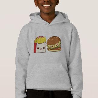 Fast Food Couple Hoodie