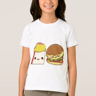 Fast Food Couple T-Shirt