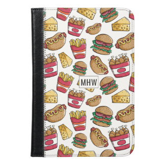 Fast Food custom monogram device cases