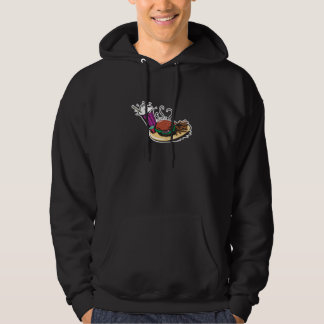 fast food diner meal hoodie
