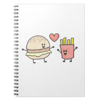 Fast Food Friends Notebook