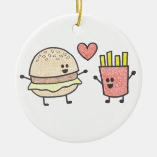 Fast Food Friends Ornament