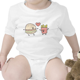 Fast Food Friends Baby Bodysuits