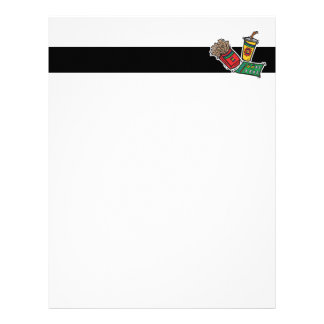 fast food games sweepstakes letterhead