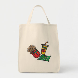 fast food games sweepstakes tote bag