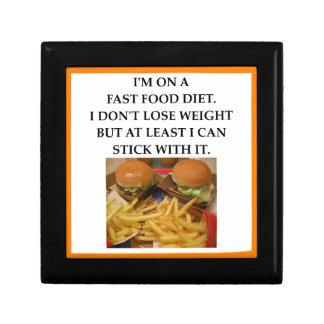 fast food gift box