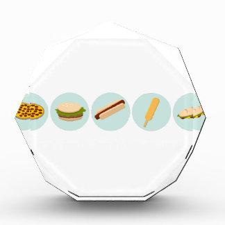 Fast Food Icon Drawings Award