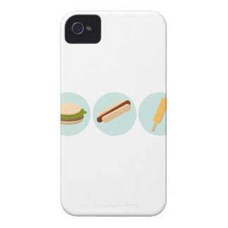 Fast Food Icon Drawings Case-Mate iPhone 4 Case