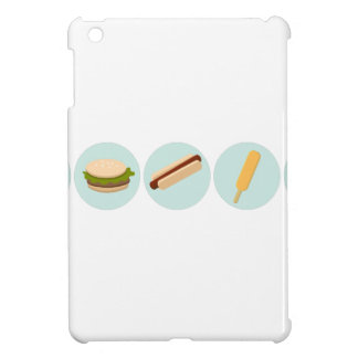 Fast Food Icon Drawings iPad Mini Cover