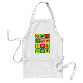 Fast Food Junkie apron