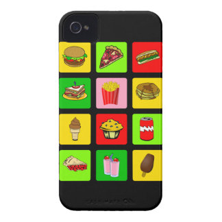 Fast Food Junkie iPhone 4 case-mate