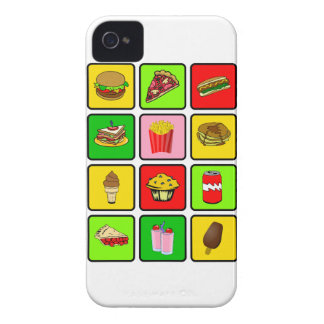 Fast Food Junkie iPhone 4 case-mate iPhone 4 Case