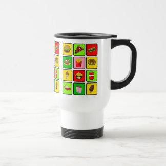Fast Food Junkie mug - choose style & color