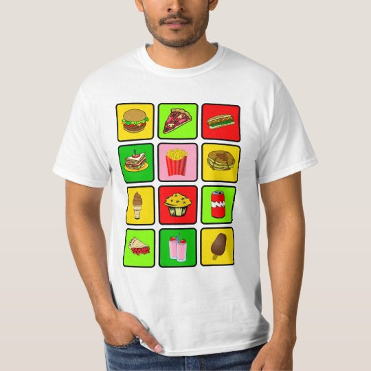 Fast Food Junkie shirt - choose style & color
