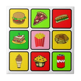 Fast Food Junkie tile