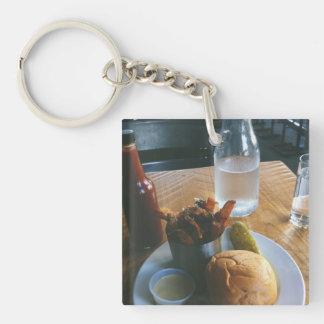 fast food keychain