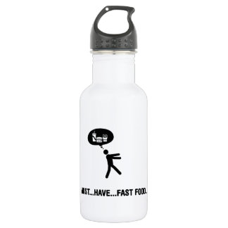 Fast Food Lover Water Bottle