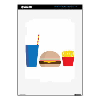 fast food meal skin for iPad 3