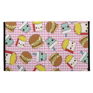 Fast Food Minis iPad Folio Case
