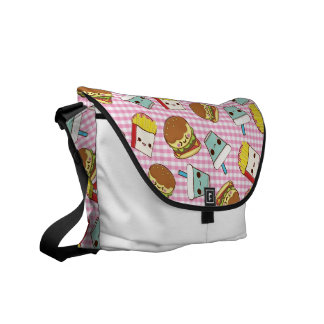 Fast Food Minis Courier Bags