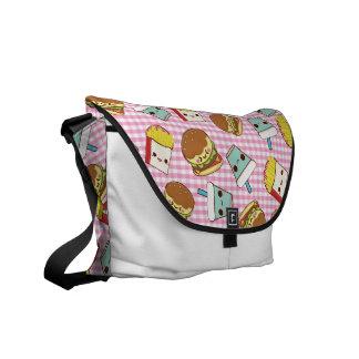 Fast Food Minis Messenger Bag