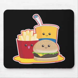 Fast Food Mouse Pad