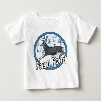 Fast Food Mule Deer Baby T-Shirt