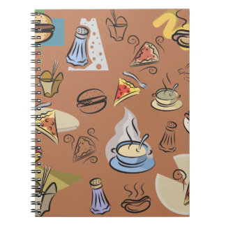 Fast Food Notebook