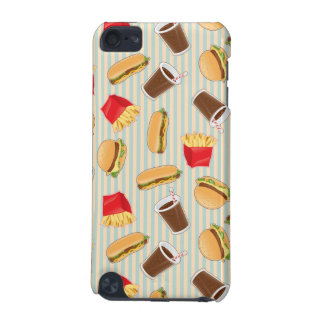 Fast Food Pattern 2 iPod Touch (5th Generation) Cases