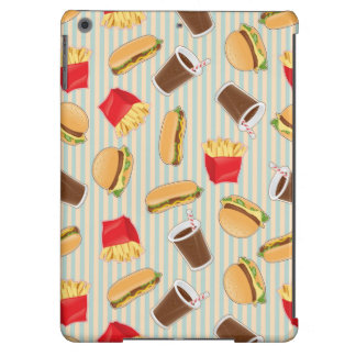 Fast Food Pattern 2 Case For iPad Air
