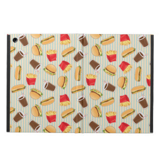 Fast Food Pattern 2 Cover For iPad Air